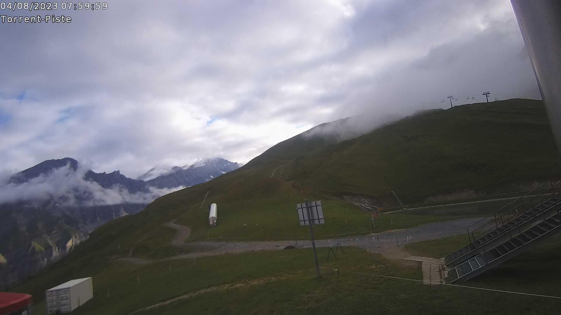 Webcam Torrent Rinderhütte Piste - Alt. 2'313 m.